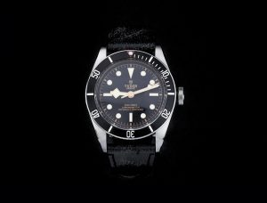 Tudor Heritage Black Bay Automatic Chronometer Watch with Certificate