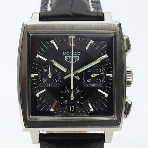 Tag Heuer Monaco First Re Edition Automatic Chronograph, Circa 1900s