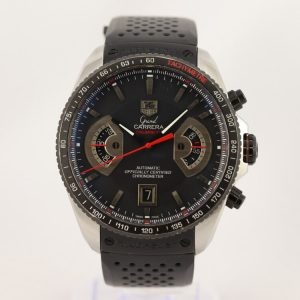 Tag Heuer Grand Carrera 17 Stainless Steel 44mm Automatic Watch