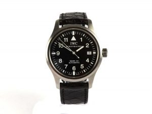 IWC Pilot Mark XV 38mm Stainless Steel Automatic Watch with Papers