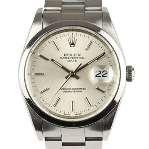 Rolex Oyster Perpetual Date 15200 Stainless Steel Automatic Watch