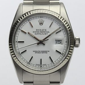 Vintage Rolex Datejust 16014 Stainless Steel Automatic, Circa 1980s