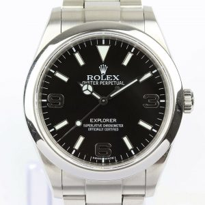 Rolex Explorer 214270 Stainless Steel 39mm Automatic Watch