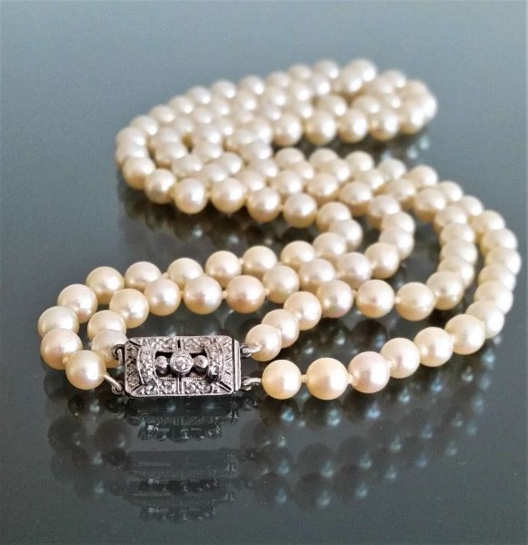 Antique and Vintage Pearl Rings and Jewellery