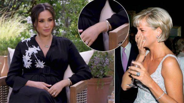 Princess Diana's Diamond Tennis Bracelet