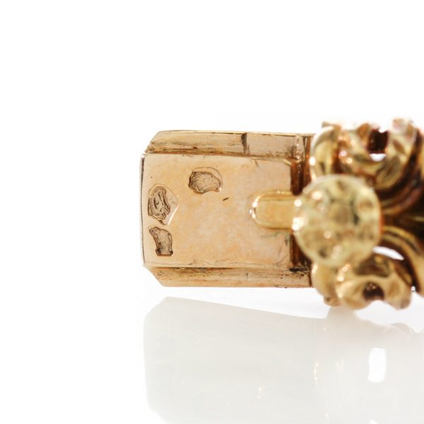 Van Cleef and Arpels Coral and 18ct Gold Bracelet