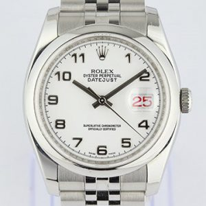 Rolex Datejust Stainless Steel 116200 Roulette Date with Papers