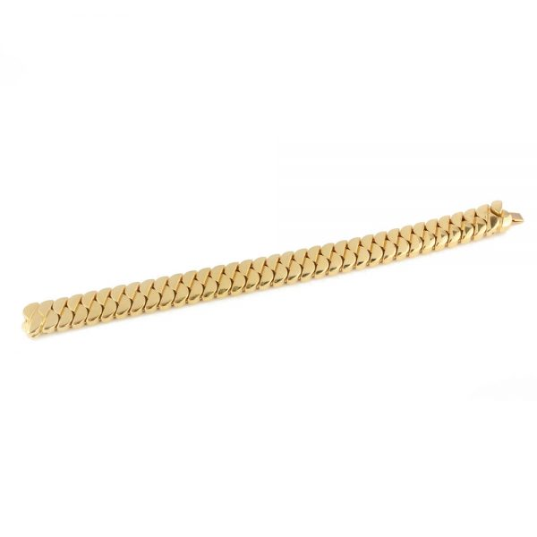 Cartier 18ct Yellow Gold Link Bracelet, Made in France, Circa 2000s, in original box