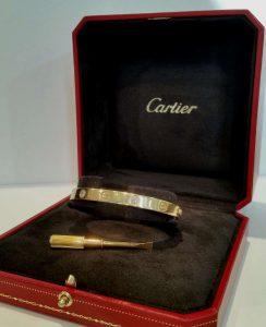 Cartier Love Bangle with Diamonds