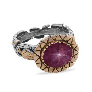 Brielle Star Ruby Ring