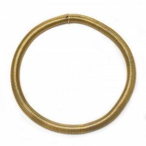 Vintage Gold Collar Necklace, Circa 1950