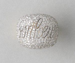 Diamond Bonheur Bombe Dress Ring, 4.00 carats