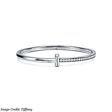 Tiffany & Co. T1 Hinged Diamond Bangle
