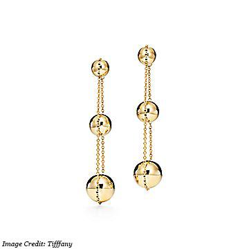 Tiffany & Co. Triple Drop Earrings